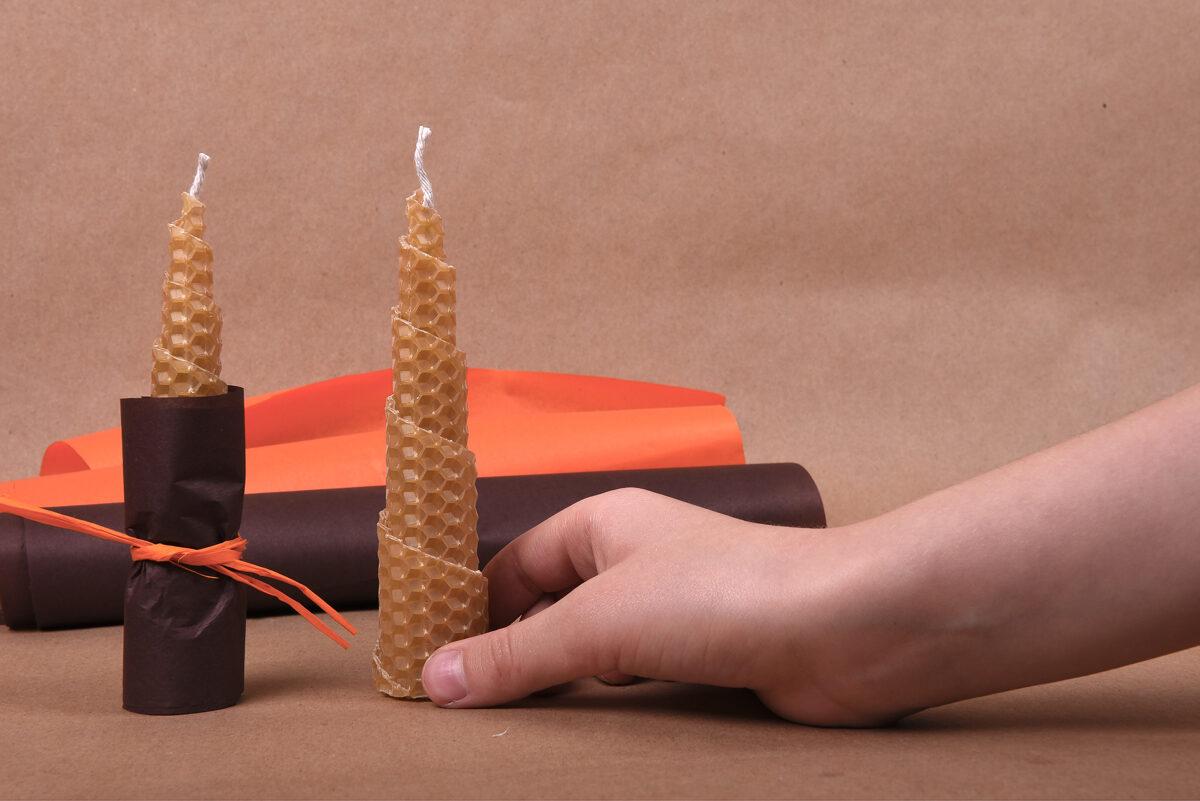 """Patyriminė dovana vaikams """"Pasidaryk žvakelę pats"""" perkant mažiau nei 20 dėžučių"""