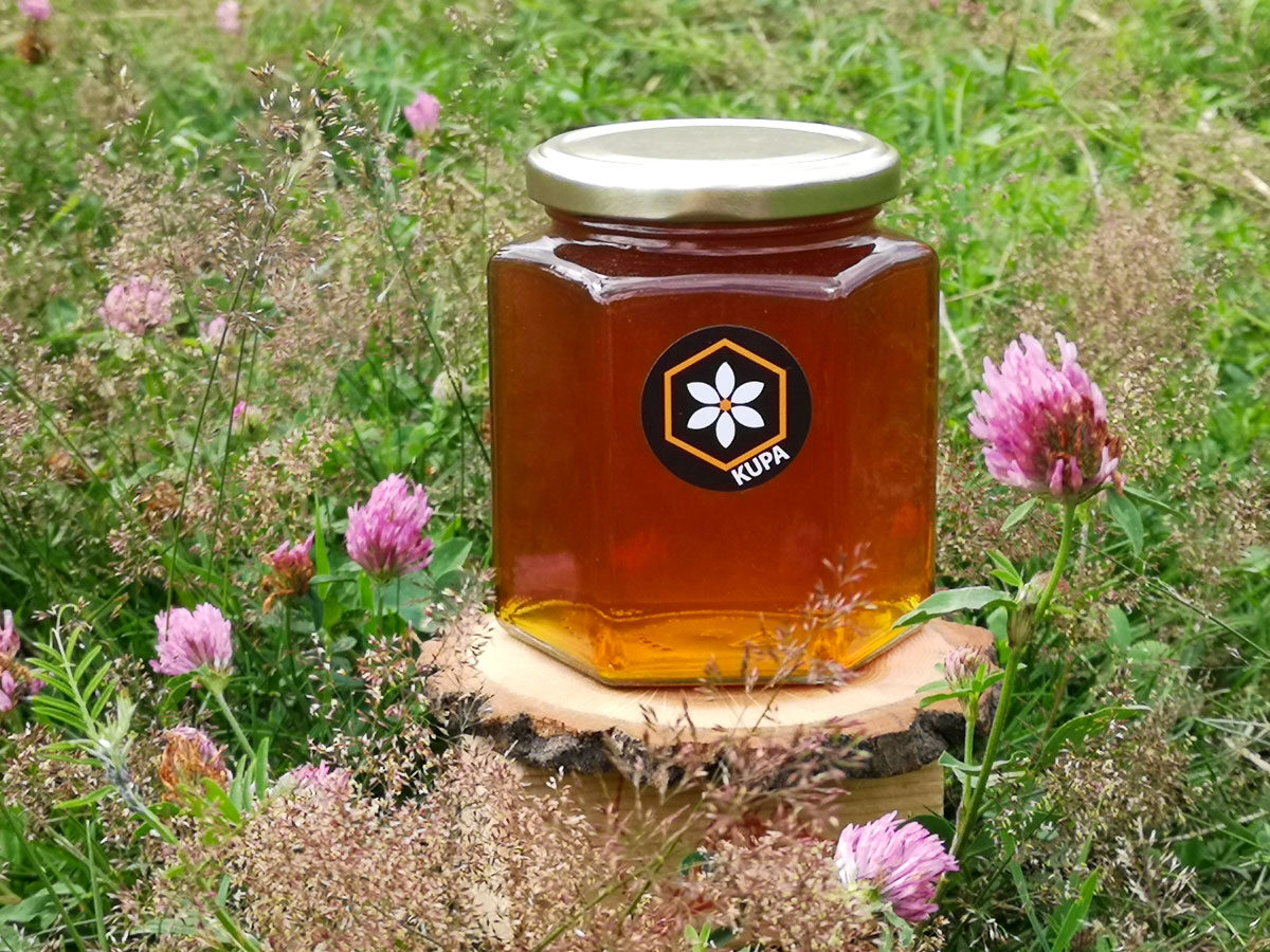 SUMMER POLY FLORAL HONEY 500g.